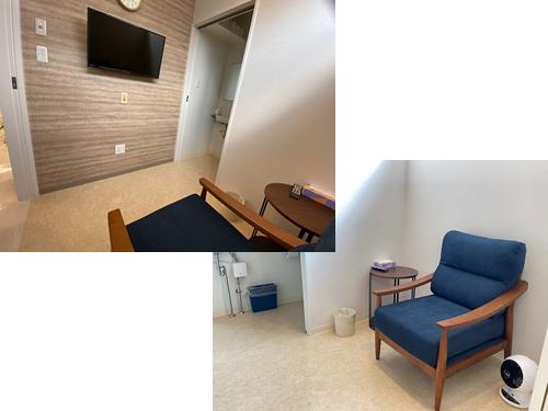 大腸検査の待合室