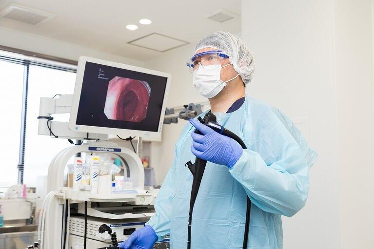 内視鏡専門医、放射線専門医による質の高い検査を行っています。