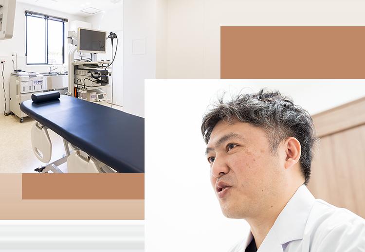 内視鏡専門医、放射線専門医による質の高い検査